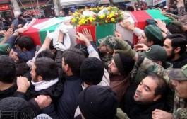 پیکر مطهر شهید مدافع حرم، محمدرضا فخیمی در تبریز تشییع شد
