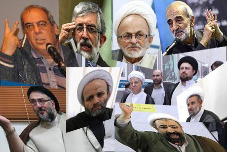 در پی انتقاد هاشمی از رد صلاحیت سیدحسن خمینی صورت گرفت ؛ حمله گازانبری؛ از رسایی و شریعتمداری تا عبدی و ابطحی!