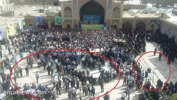 ۸۰۰ تماشاگر احمدی نژاد در شهر بابک زنجانی + عکس