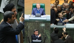 فراز و فرودهای یک مجلس تمام اصولگرا ؛ موافقانی که مخالف شدند / مروری بر روزهای پرحادثه مجلس نهم ؛ از یکشنبه سیاه تا سئوال از احمدینژاد
